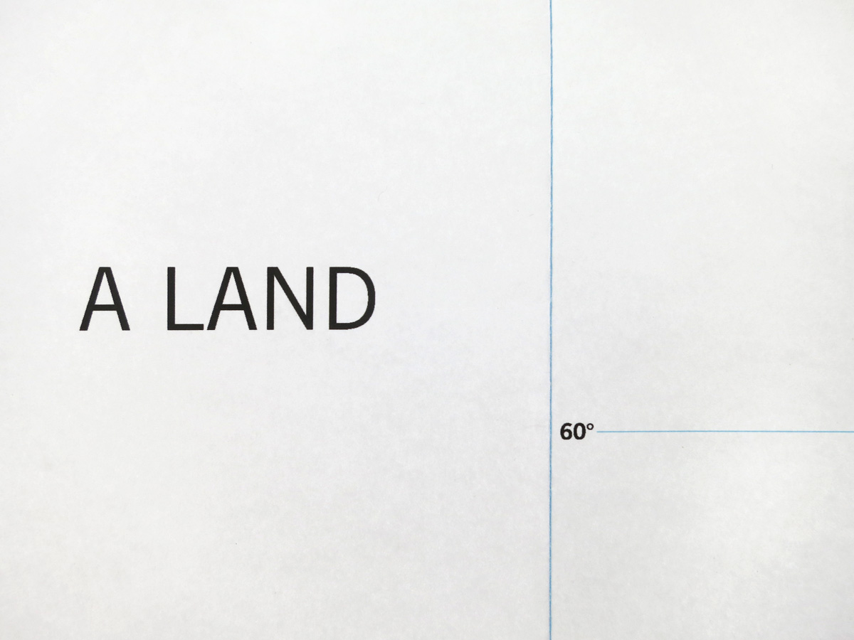Elsa Werth, A land, 2019, exhibition view_1